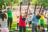 Just for Kids Yoga will be held this Saturday, July 5 at 10:15 am. Bring a picnic and enjoy the holiday at the park! Photo by Alisha Hunter/Big City Productions
