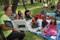 Story Time at Detroit's Palmer Park, July 2012.