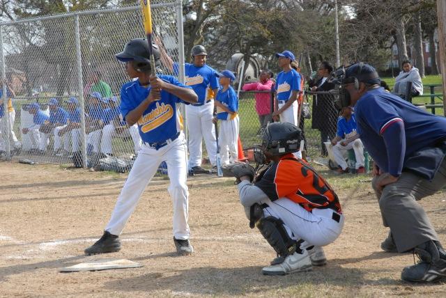 Little League Baseball at the Park
